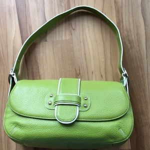 Lime green Franco Sarto shoulder bag